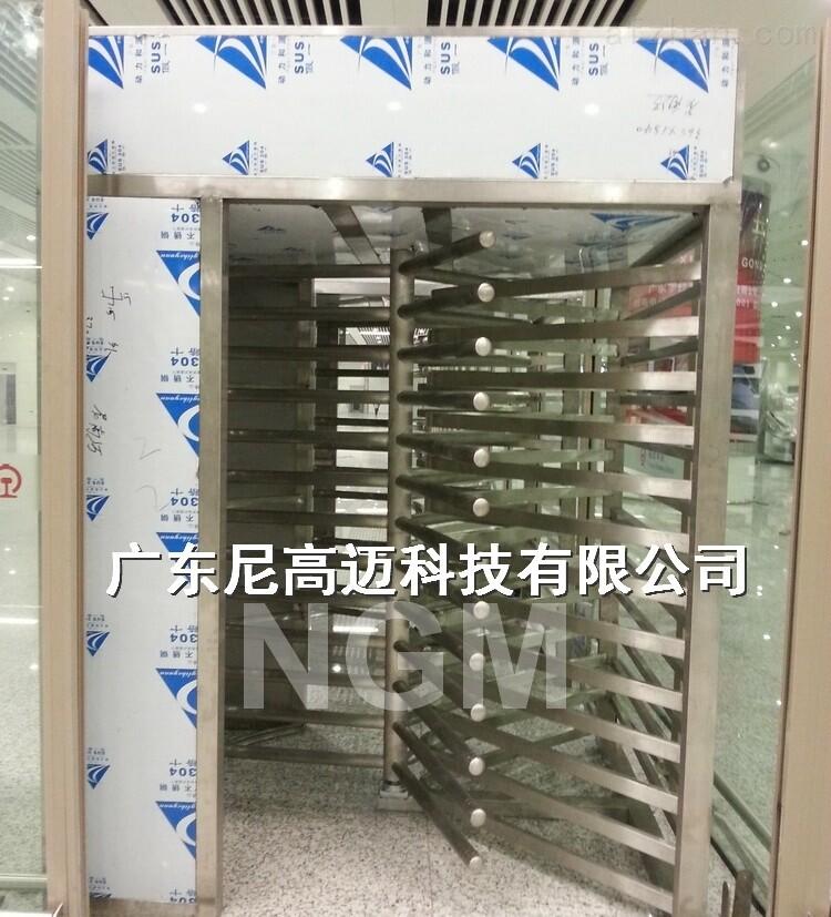 中铁车站旋转单向门 逆时针旋转全高闸