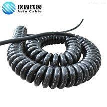 SPIRAL  CTU弹簧线 耐磨 耐寒 耐油 螺旋电缆,*