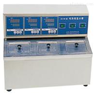 三孔电热恒温水槽试验设备