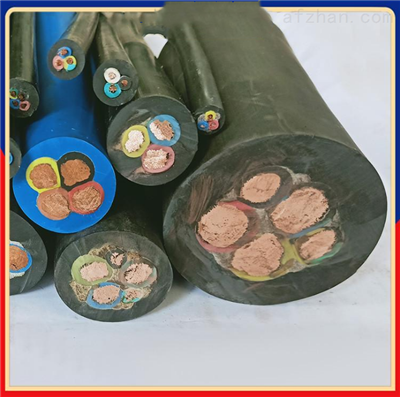JHS橡套电缆 3*70+1*25高温防水电缆