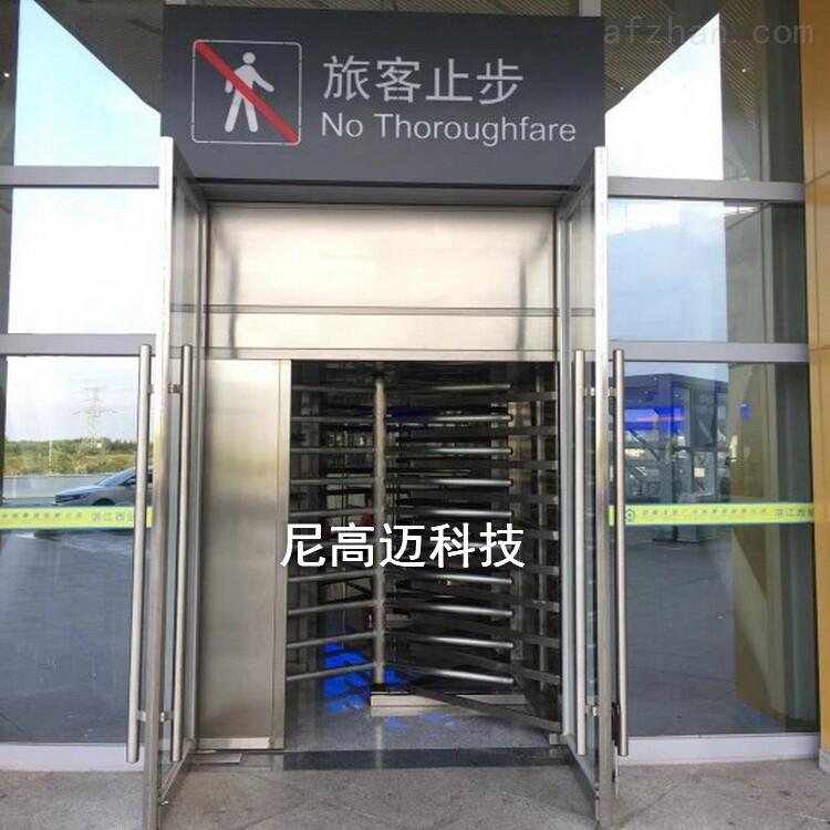 湛江西高铁站304不锈钢单向手动转闸厂家