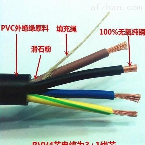 KVVP-22控制电缆24x4铜芯电缆