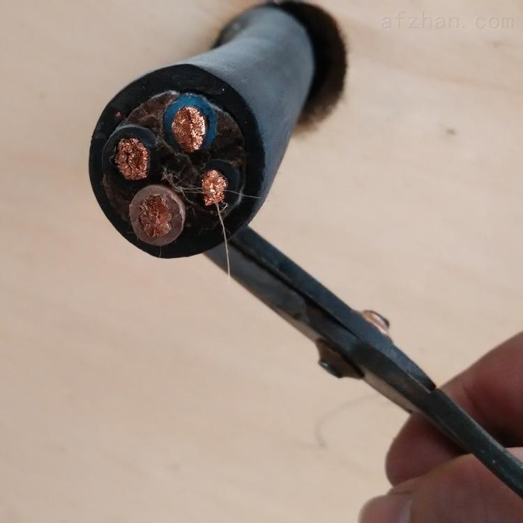 矿用橡套电缆4x1.0 MYQ轻型电缆报价