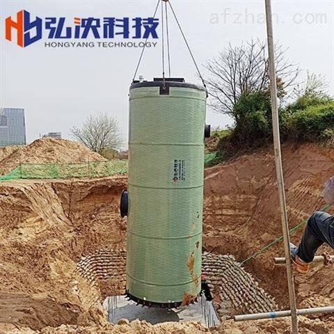 上海一体化提升泵站厂家玻璃钢筒体实力工厂