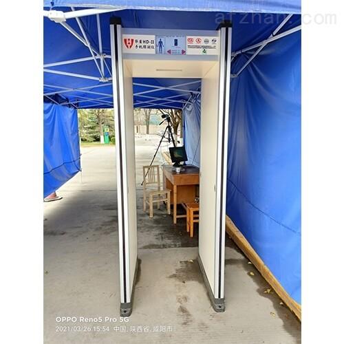 区位显示保密室手机探测门