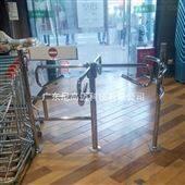 NGM-Z03超市通道入口导向门 不锈钢十字转闸