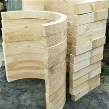 陕西咸阳保冷管道垫木  风管垫木应用方便