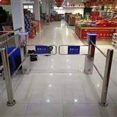NGM超市进出电动感应红外单向摆闸门禁
