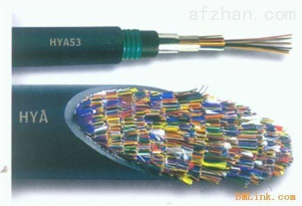 铠装市内电缆 HYAT53 50*2*0.4 20*2*0.4