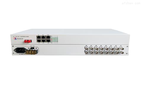 8E1+4路千兆网络光端机