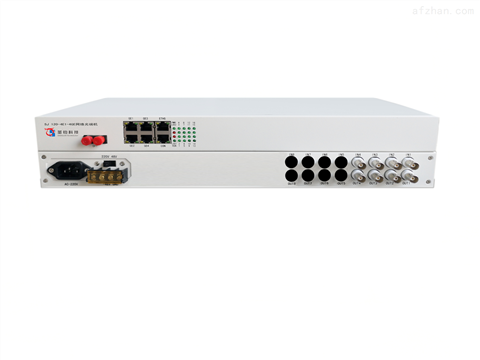 4E1+4路千兆网络光端机