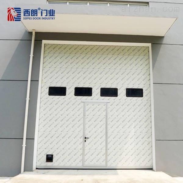 天津工业提升门防盗抗风真的强