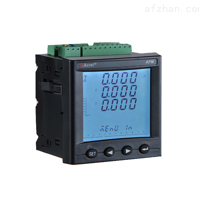 0.2S级网络电力仪表 温湿度测温模块仪表