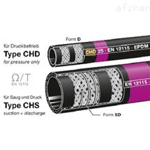 CHD19ELAFLEX  CHS CHD化工软管紫色带环