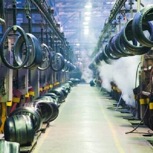 Krautzberger隔膜泵应用于车轮装配线