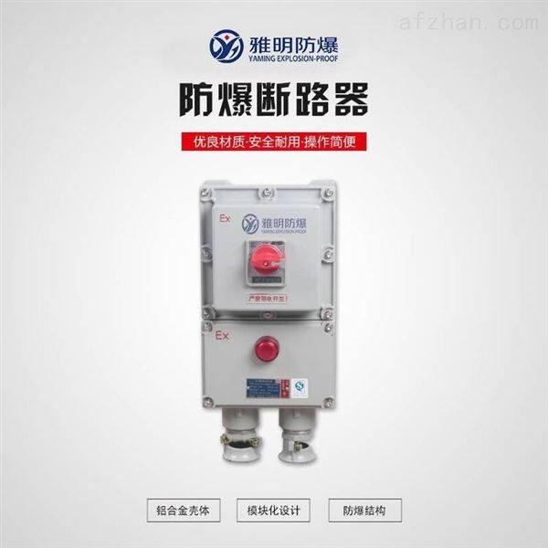 BLK52-25A3PExdeIIBT6防爆电源开关箱断路器