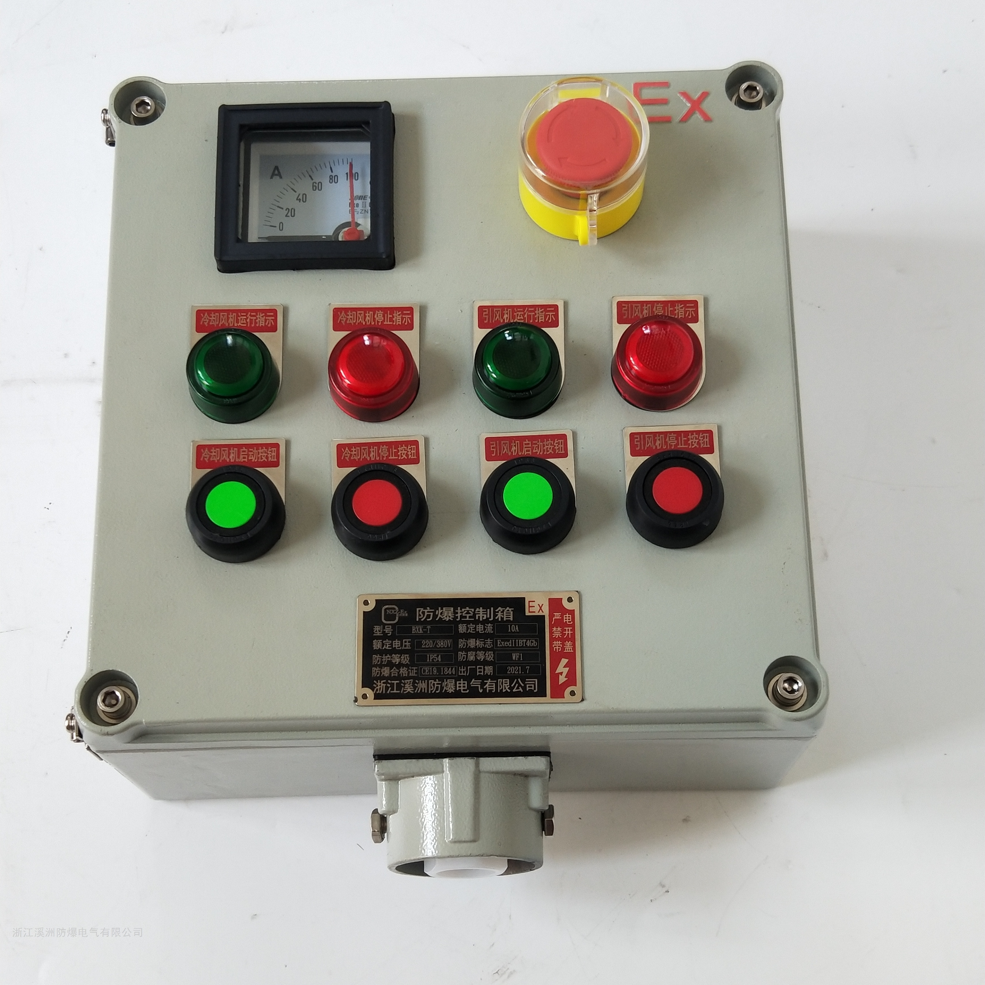 防爆仪表控制箱立式