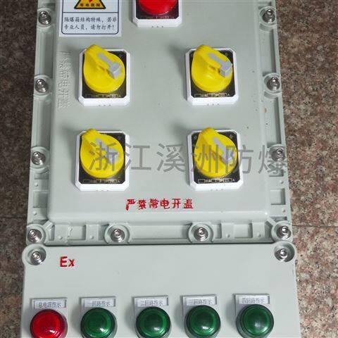 4回路防爆照明动力配电箱