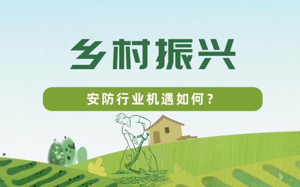 助力乡村振兴 安防基础工程建设多机遇