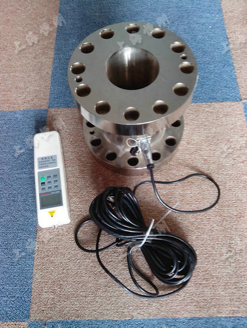 法兰电子拉压测力器图片