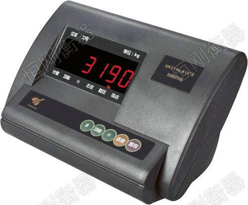 单层电子地磅选用仪表