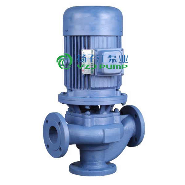 GW型管道排污泵 防爆管道式无堵塞排污泵