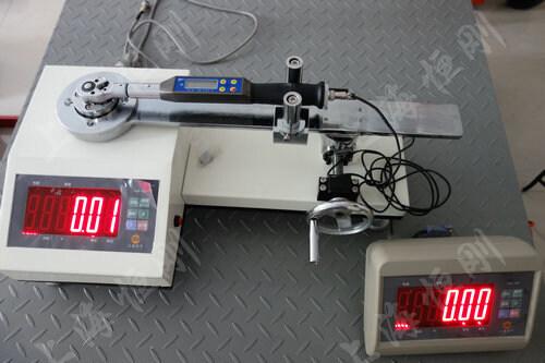触屏力矩扳手校检测试仪图片