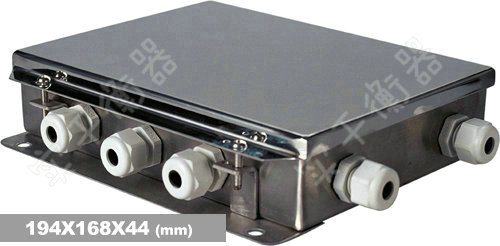 可移动电子地秤接线盒
