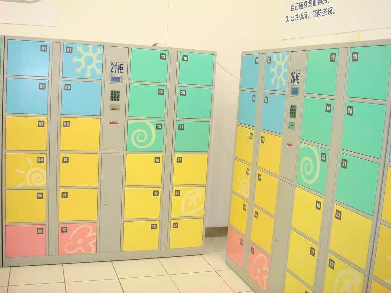 18門電子寄放柜比24門自制。