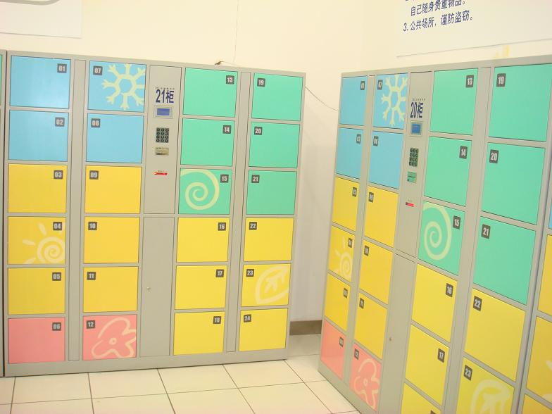 东营12门电子寄存柜