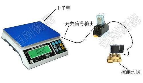 开关量信号输出电子桌秤