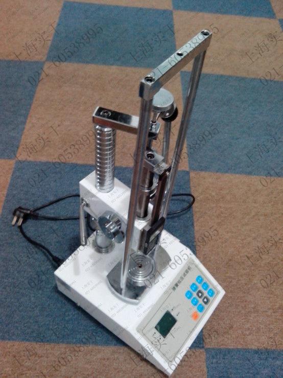 100N弹簧拉压试验机图片