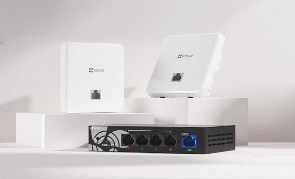 """萤石""""AC+AP无线网络覆盖方案"""