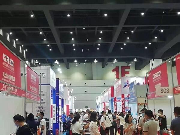 開展第二天|第12屆鄭州國際消防展現場持續火爆,精彩不間斷!