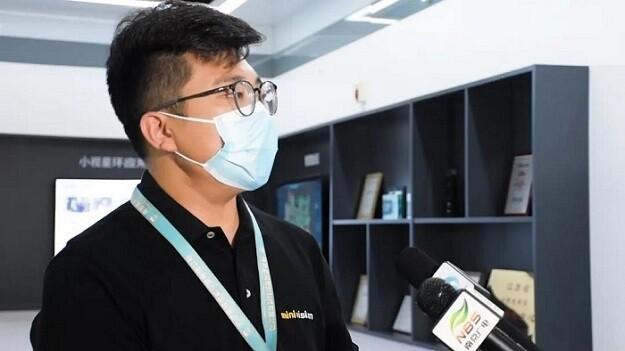 科技战疫 | 南京广电、江宁融媒体中心采访小视科技防疫及生产情况