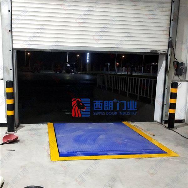 温州仓库门口自动装卸货平台