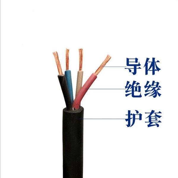 煤矿用电缆MYQ参数,MYQ电缆规格及外径