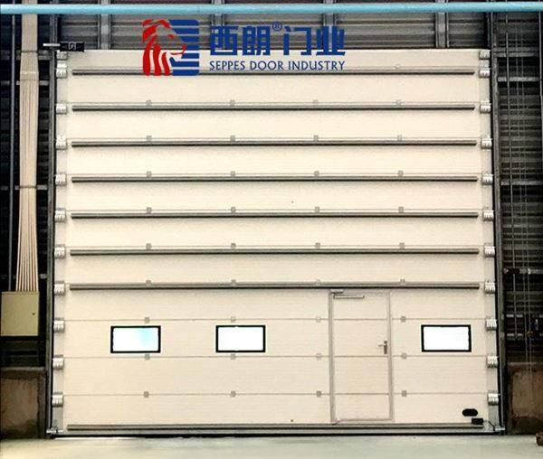 常州工厂改造用电动滑升门