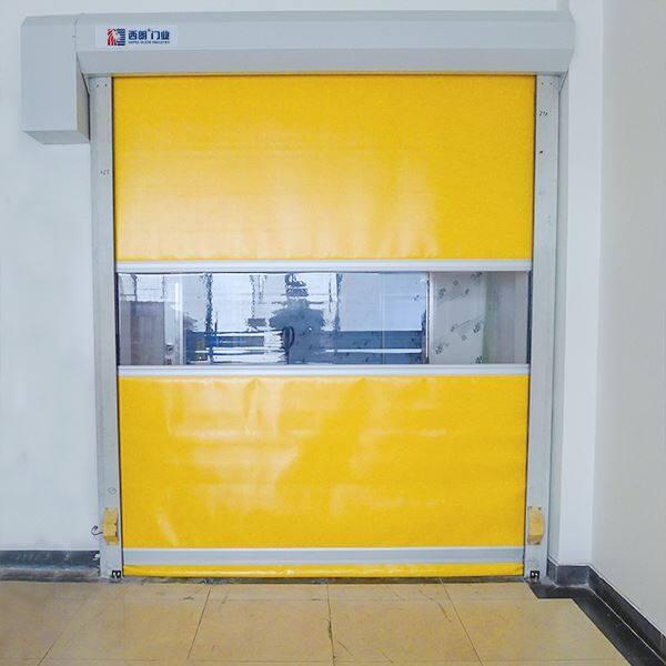南京工厂缓冲车间互锁快速升降门
